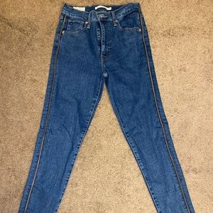 Levi's Jeans Blue Denim Zipper